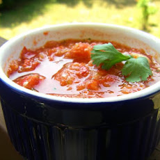 Honey Lime Gazpacho
