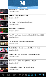 Best Music Tube HD Playlist - screenshot