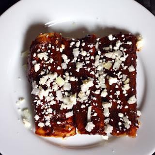 Red Enchiladas With Queso Añejo