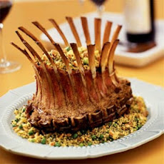 Crown Lamb Rack with Green Herb Couscous