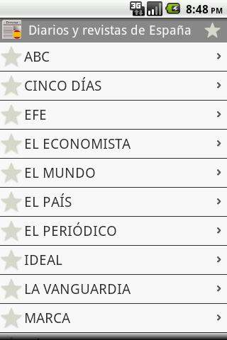 スペインの新聞や雑誌