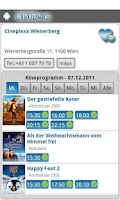 Screenshot of Ab Ins Kino - Kinoprogramm