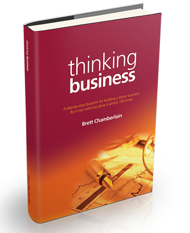 Thinking business free chapter offer brett chamberlain a step by step blueprint for building a better business malvernweather Gallery