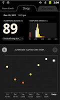 Screenshot of SleepFit  - Alarm & Sleep Log