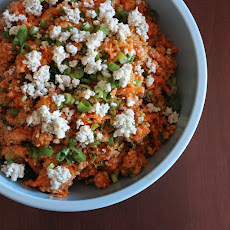 Buffalo Chicken Quinoa Salad.