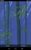 Screenshot of Bamboo Forest Live Wallpaper