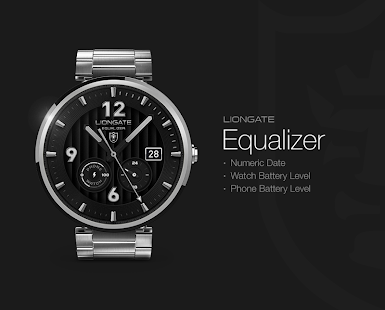 Equalizer watchface by Liongat - screenshot