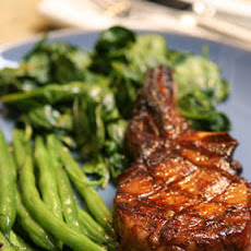 Blood-Orange-Marinated Pork Chops