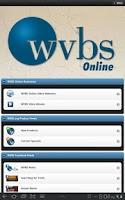 Screenshot of WVBS