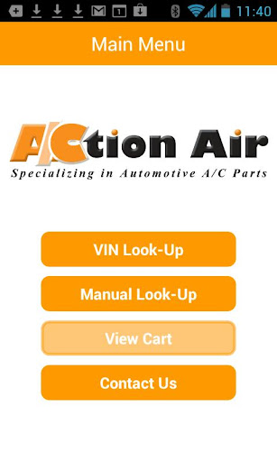 Action Air - VIN Barcode Scan