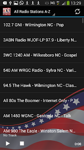 North Carolina Radio Stations - screenshot