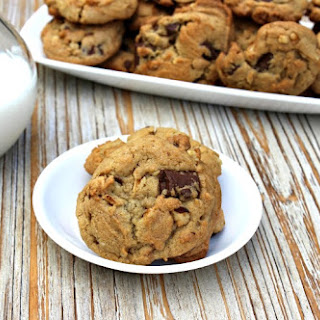 Chocolate Chunk Peanut Butter Cookies