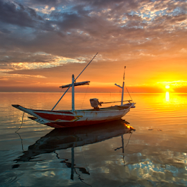 sunset anarki by Ahmad Sahroni - Transportation Boats