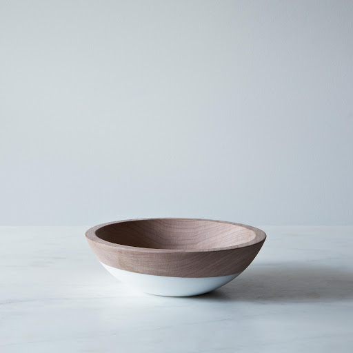Hand-Dipped Walnut Wood Bowl (7 Inch)