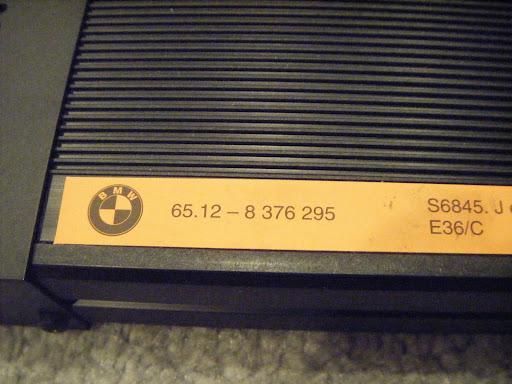 from an E36 Convertible