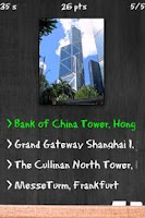Screenshot of Tallest Buildings Quiz