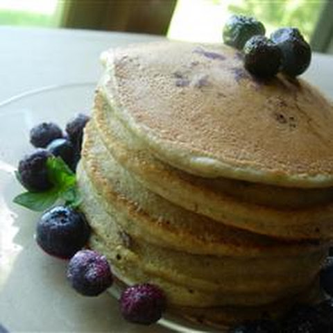 Whole Wheat Blueberry Pancakes Healthy Recepten | Yummly