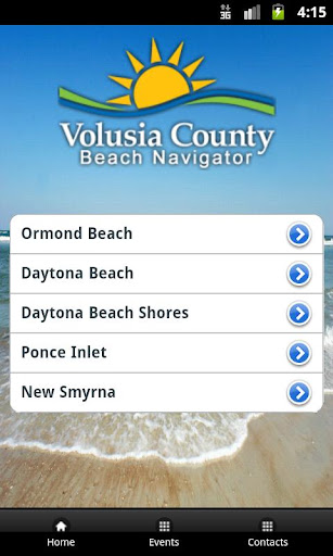 Volusia Beaches