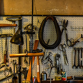 wall of ideas by Scott Galle - Artistic Objects Antiques