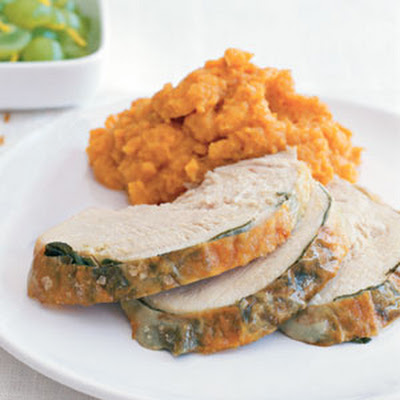 Sage-Roasted Turkey Breast and Gravy