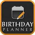 Birthday Planner Full icon