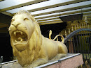 Roaring Golden Lion