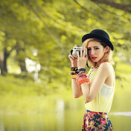 My Camera by Triyono Priyosaputro - People Fashion