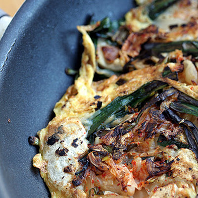 Korean Scallion Pancake