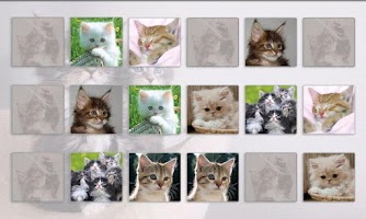 Screenshot of Cats Memory Game Free