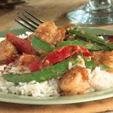 Prawn and Sesame Stir-Fry