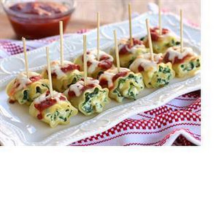 Mini Spinach Lasagna Roll-Ups