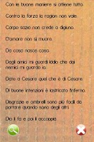 Screenshot of Proverbi Italiani