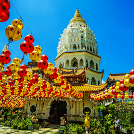 Buddha Festival by Mike S Candleghost - News & Events World Events ( temple, mike s, penang, scenery, nikon, buddha, d3s )