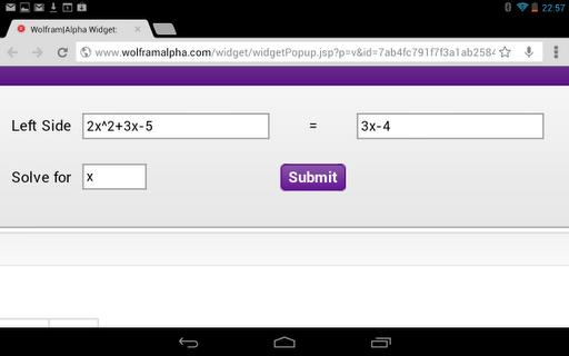 Solve Equations Calculator