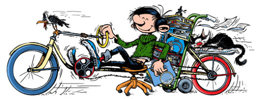 André Franquin's 57th Anniversary of Gaston Lagaffe