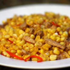 Miao Pork with Corn and Chiles