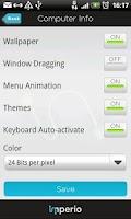 Screenshot of im Remote Desktop, RDP +