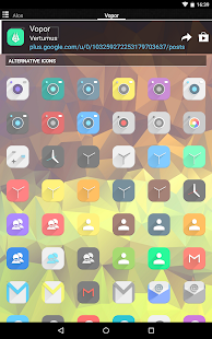 Vopor - Icon Pack- screenshot thumbnail