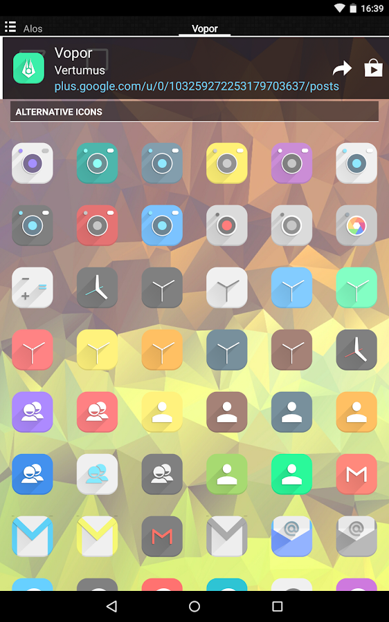 Vopor - Icon Pack Screenshot 12