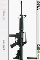 Screenshot of AR-15 machine-gun