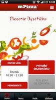 Screenshot of Pizzerie Bystřička Olomouc