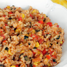 Cheesy Skillet Tex-Mex Rice
