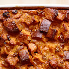 Pumpkin-Ginger Bread Pudding