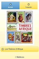 Screenshot of Timbres d'Afrique