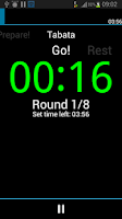 Screenshot of A HIIT Interval Timer