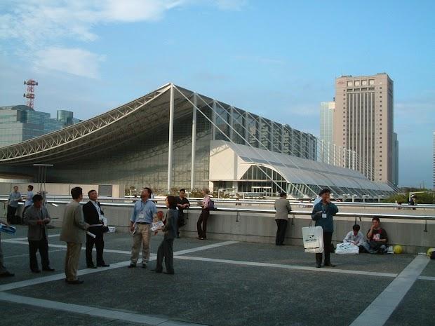 TGS 2004: TGS location (Makuhari Messe, Chiba, Tokyo)