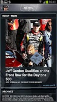 Screenshot of Jeff Gordon® - OFFICIAL