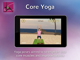 Screenshot of Core Yoga