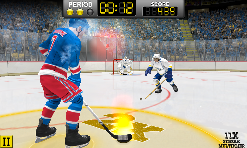 NHL Hockey Target Smash Screenshot 0