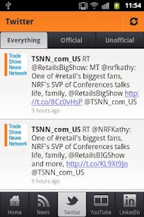 Trade Show News Network - screenshot